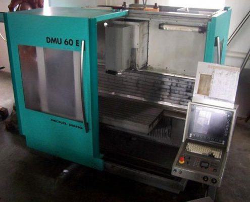 DECKEL MAHO DMU 60فرز سی ان سی CNC سه محوردکل ماهو | شرکت جهان ماشین